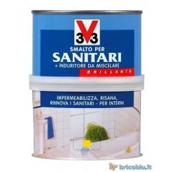 SMALTO RESTAURO SANITARI BIANCO 500ML