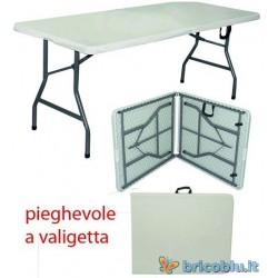 TAVOLO PIEGHEVOLE A VALIGETTA