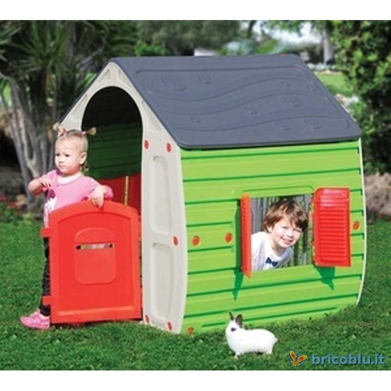Casetta bimbi giochi per bambini brico blu for Casetta giardino bimbi usata