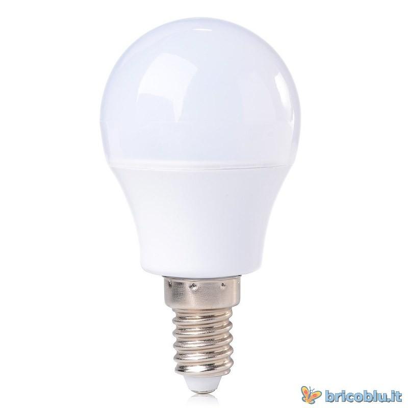 LAMPADINA LED 4W E14 LUCE CALDA 2700 K - Brico Blu