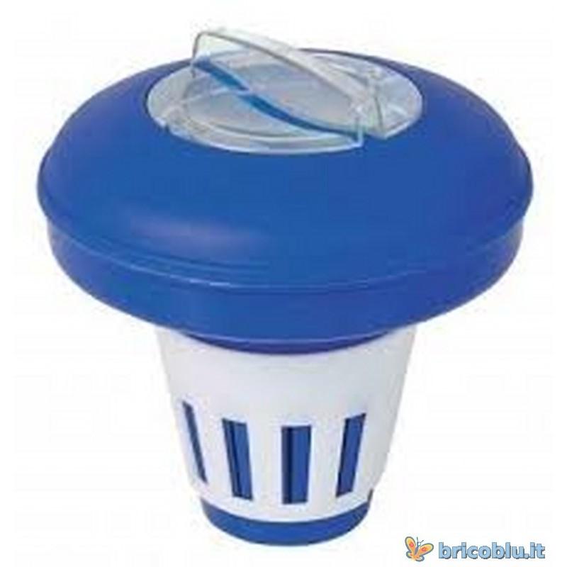 Porta pastiglie gallegiante per piscina bestway brico blu for Bestway piscine e accessori