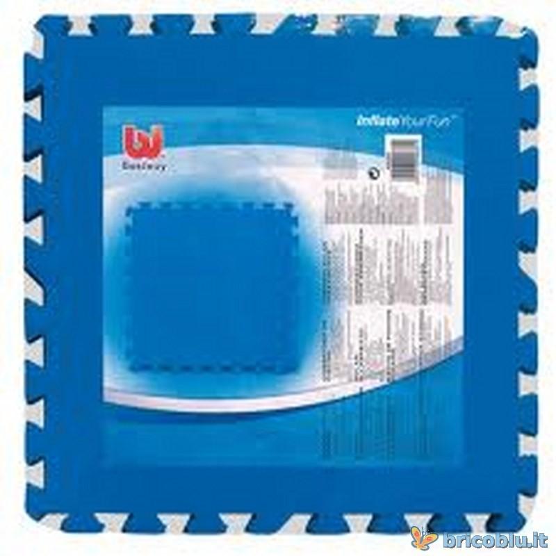 Tappeto gomma sotto piscina bestway brico blu - Tappeto sottopiscina ...